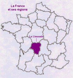 The Limousin region